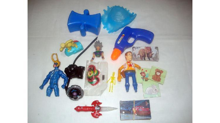 Lote juguetitos de nene x15 (usados)