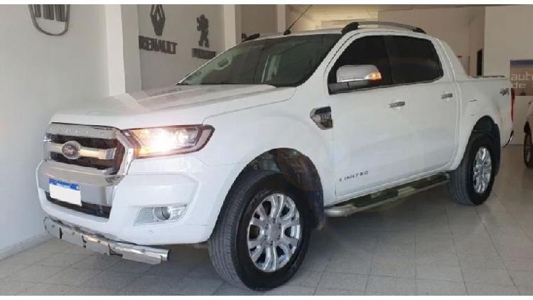 Ford ranger limited automatica mod 2016 motor 0km colocado