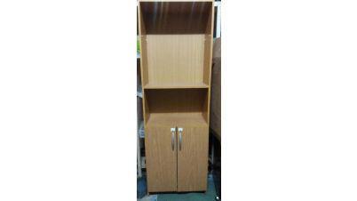 Mueble biblioteca nuevo 3 estantes con puertas y otro