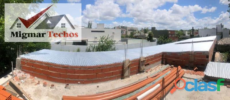 Construcción y reparación de techos