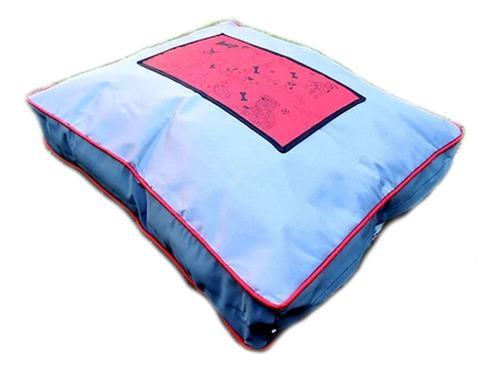 Almohadon cama impermeable para perro 55x65cm good l