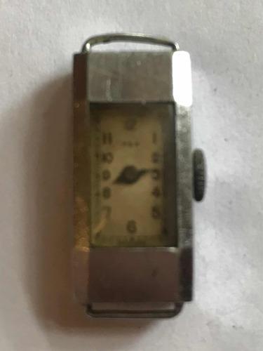 Antigua maquina reloj rex vintage de colección-a reparar