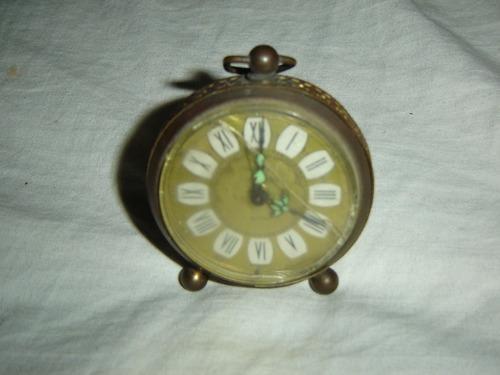 Antiguo reloj de mesa despertador aleman envio ver detalle