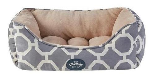 Cama moises perros gatos cocooning small 56x45 gris full