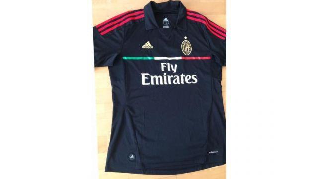 Camiseta futbol ac milan adidas - original -alternativa -