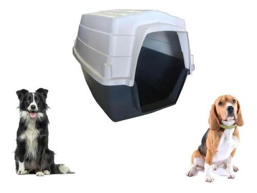 Cucha de casa de perro mediana térmica impermeable 84x65x60