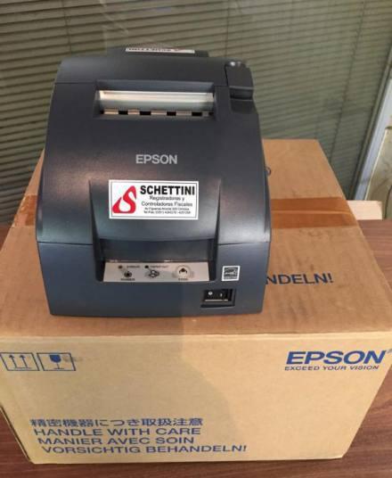 Impresora ticket comandera epson tmu220 d serial open box