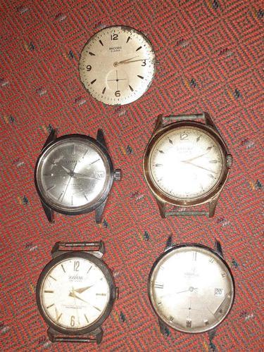 Lote de relojes antiguos para repuestos o restaurar