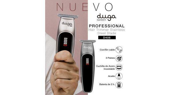 Máquina de cortar pelo duga recargable trimmer profesional
