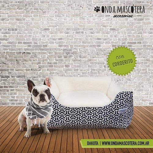 Moises cama perros peluche o corderito 1mtx70 envío gratis