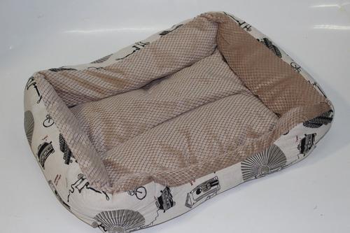 Moises cucha cama para gato-perro 50x10x35 + 60x10x47