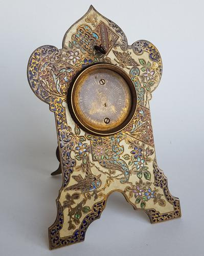 Porta reloj antiguo, cloisonne. 70111