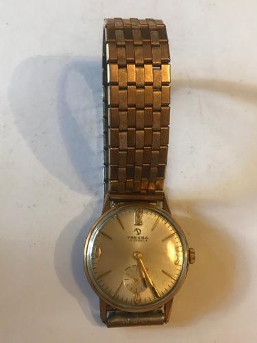 Reloj antiguo tressa rolled gold de colección exclusivo