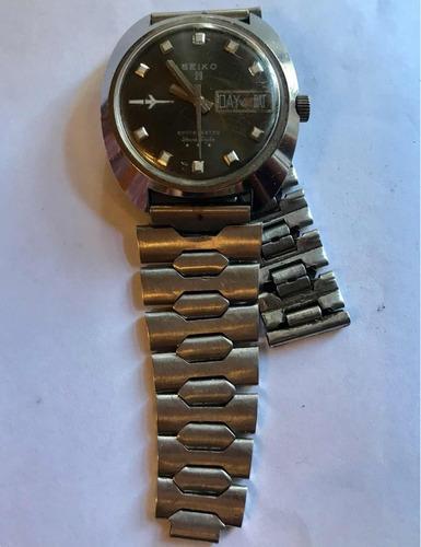 Reloj Hombre Antiguo Marca Seiko 23 De Colección-a Reparar