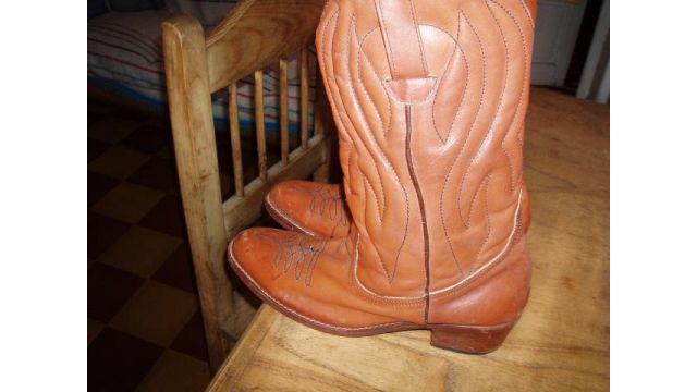Vendo botas de cuero de eeuu