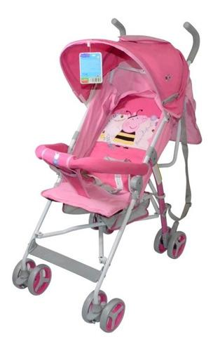 Changuito coche paraguita bebe infantil bebe 8 peppa pig
