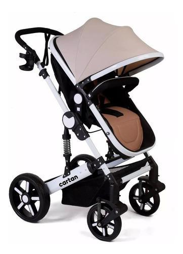Cochecito de bebe convertible en cuna asiento moises cartan