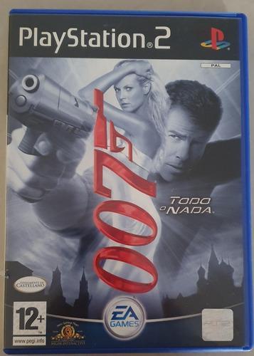 Juego ps 2 original 007 todo o nada