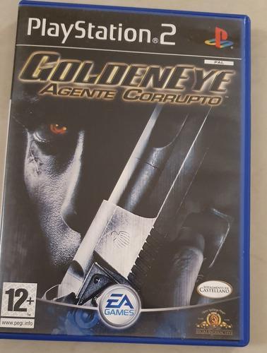 Juegos ps2 original golden eye agente corrupto