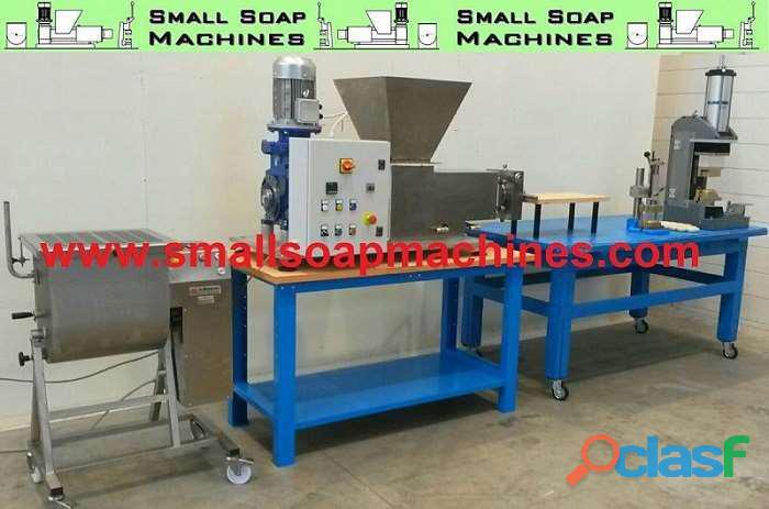 Maquinas para producir jabon