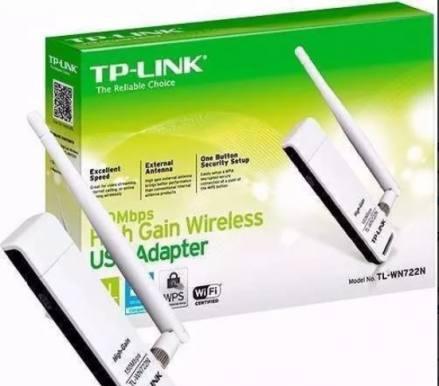 Antena wifi usb - tp-link wn722n 150mbps