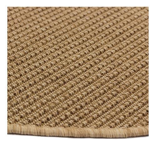 Alfombra carpeta polipropileno ext/int natural 1,8 x 0,9 mt