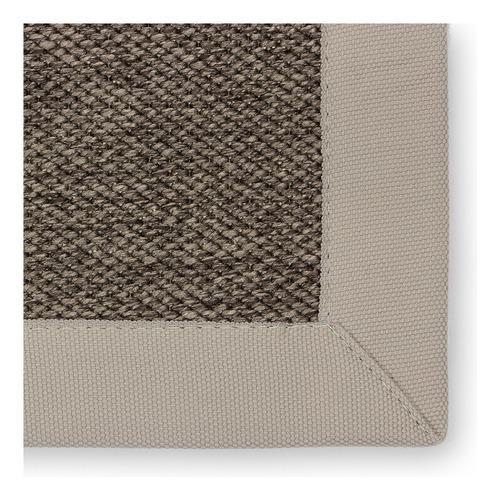 Alfombra carpeta resistente ext/int chocolate 2 x 3 mt