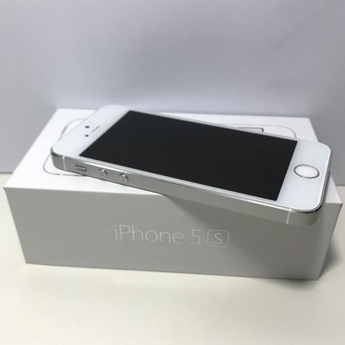Apple celular iphone 5s 4g lte chip a7 64 id touch id 8 mp