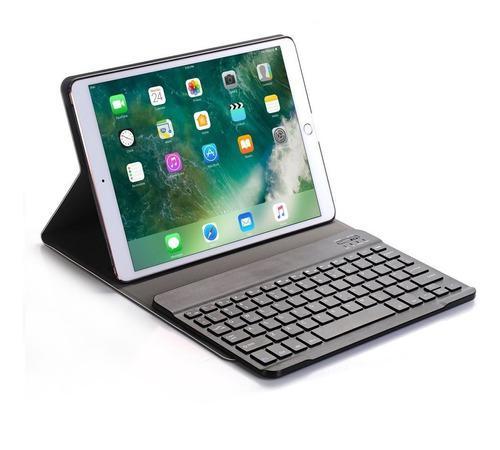 Funda smart magnetica con teclado bluetooth ipad 11