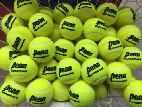 Pelotas tenis penn tournament sello negro bolsa x60 unidades