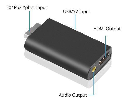 Ps2 a hdmi audio adaptador convertidor playstation 2