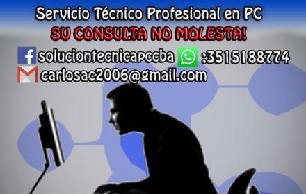 Servicio técnico en pc