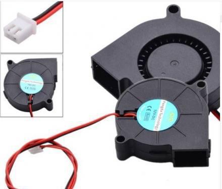 Ventilador turbo pc fan impresora 3d cooler 12v