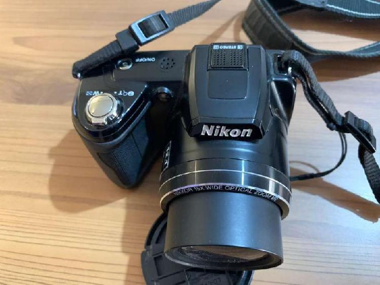 Camara fotografica nikon - modelo coolplix 110 + estuche