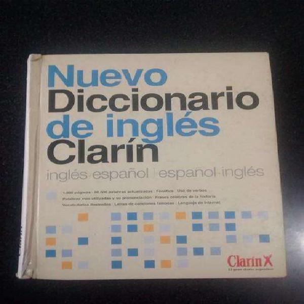 Diccionario bilingüe inglescastellano