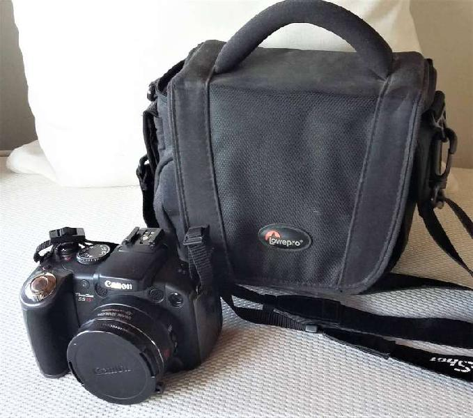 Excelente cámara canon powershot s5 is 8 megapixel, como