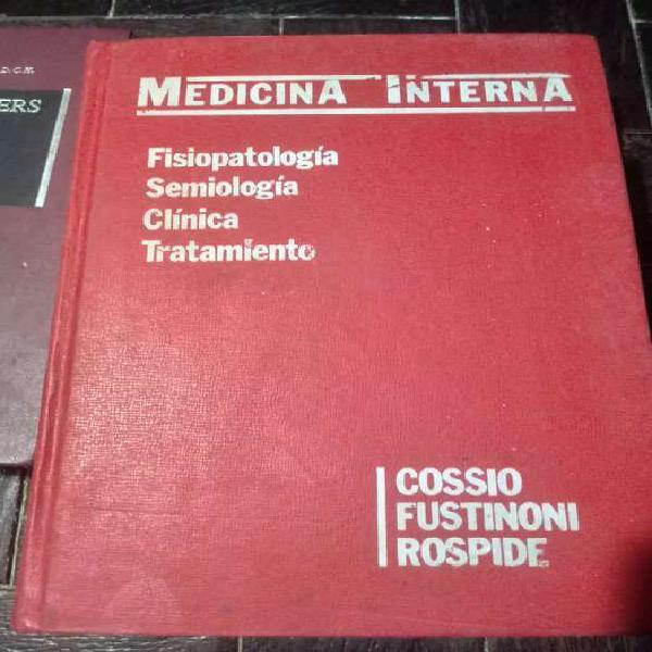 Libros de medicina ,diez en ingles y uno catellano!