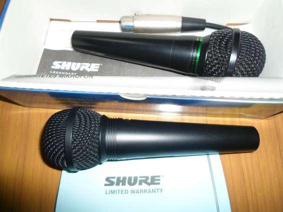 Microfonos nuevos en las heras
