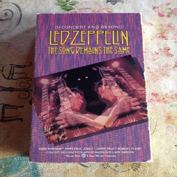 Vhs led zeppelin the song remains the same para