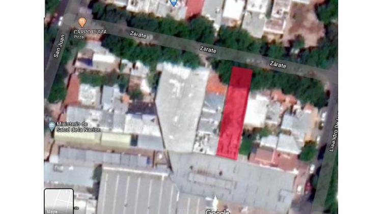 Lote 400 m2 en venta - ciudad de mendoza
