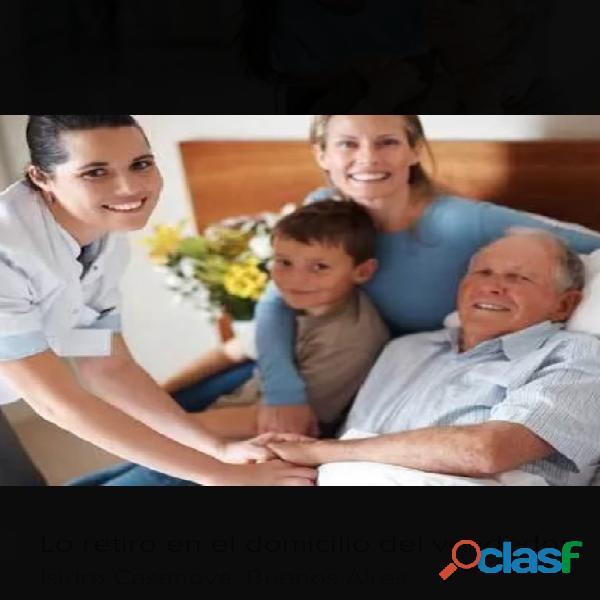 Cuidado al adulto mayor profesionales con amor