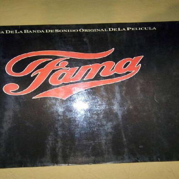 Disco lp vinilo banda original de la película fama
