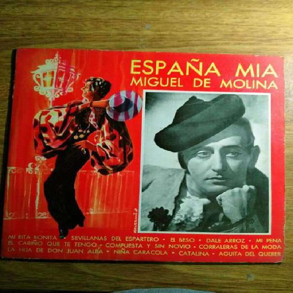 Discos de vinilo música española