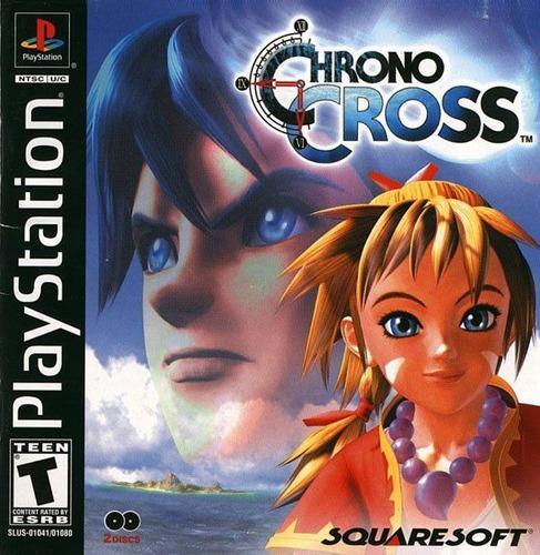 Juegos ps1 nuevos chrono cross fisico calidad premium!