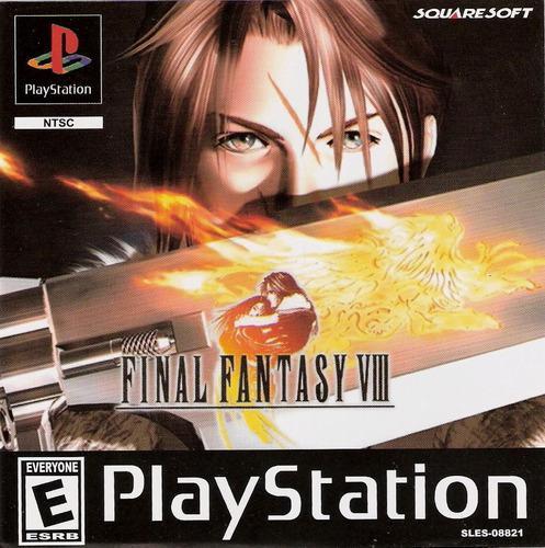 Juegos ps1 nuevos final fantasy 8 viii fisico calidadpremium