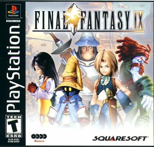 Juegos ps1 nuevos final fantasy 9 ix fisico calidad premium!