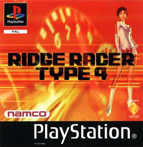 Juegos ps1 nuevos ridge racer type 4 fisico calidad premium!
