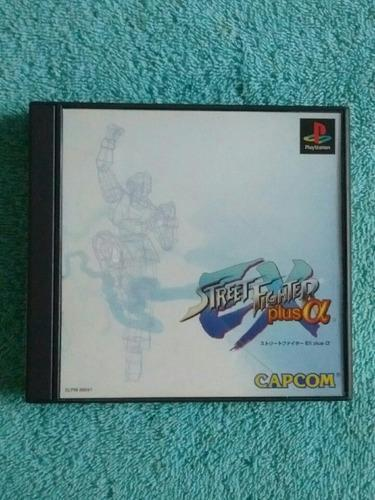 Juegos ps1 street fighter ex plus alpha original [ntsc-j]