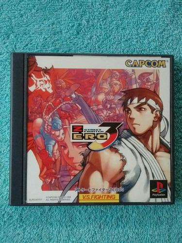Juegos ps1 street fighter zero 3 original japones [ntsc-j]