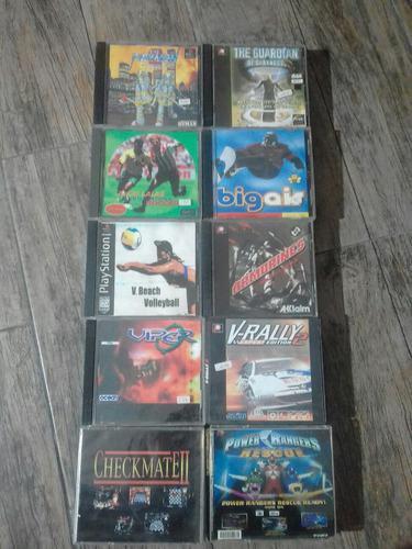 Lote de 30 juegos de playstation 1 cds play 1